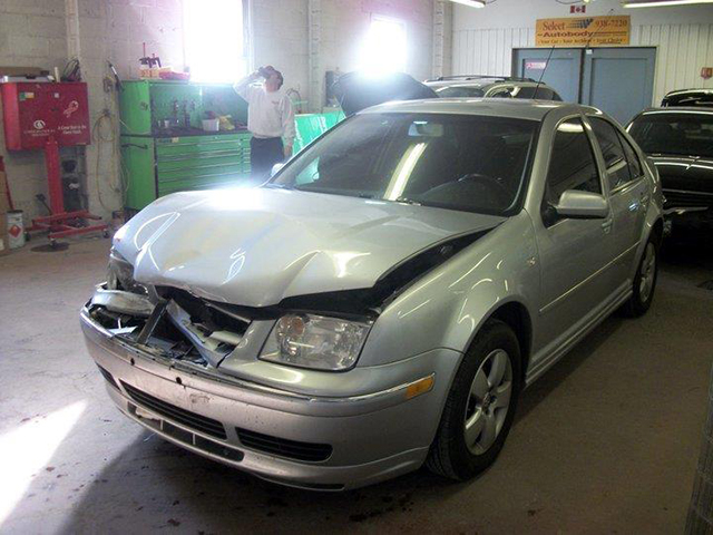 Before Collision Repairs